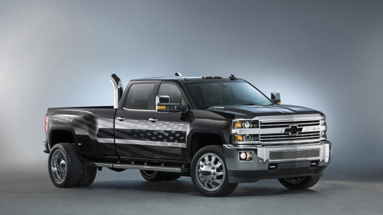2015 Chevy Silverado Rally Edition Specs >> Chevy Silverados at SEMA 2015 Photo Gallery - Autoblog