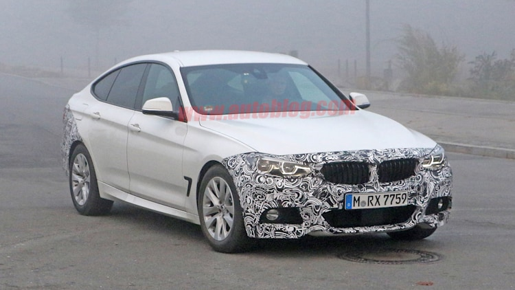 3 series gt gran turismo bmw spy photo
