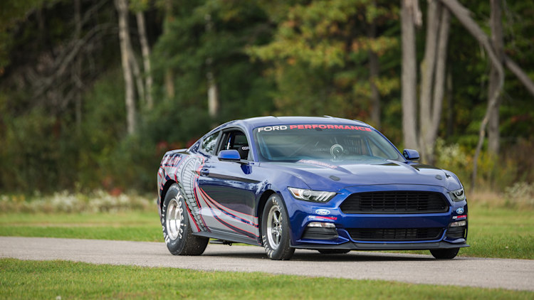 2016 Ford Mustang Cobra Jet runs an eight-second quarter mile [w/video