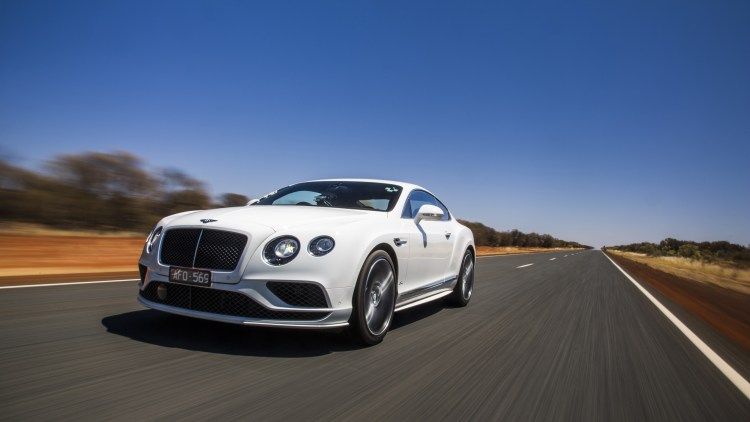 Bentley Continental GT Speed on Stuart Highway