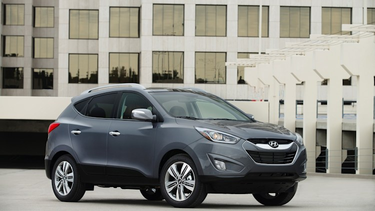 2015 Hyundai Tucson in dark grey