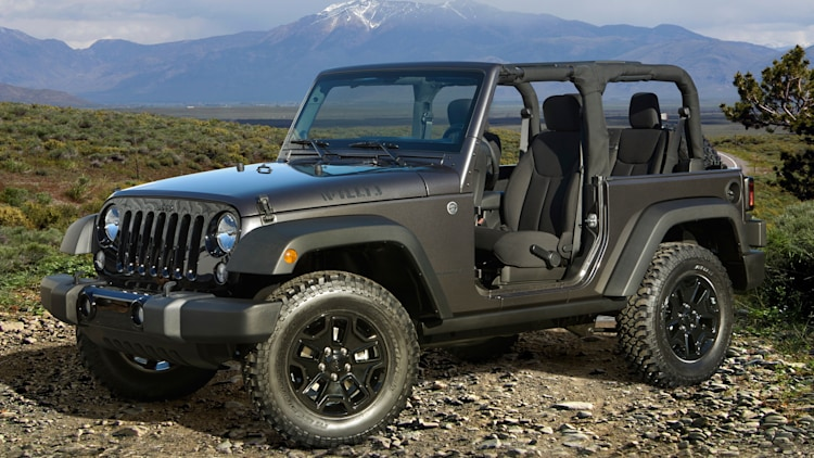Jeep Wrangler Willys Wheeler Edition in dark grey
