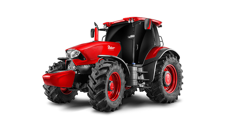Zetor tractor by Pininfarina front 3/4