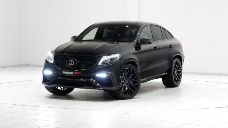 Brabus Tunes New Mercedes Gle Coupe Up To 700 Horsepower