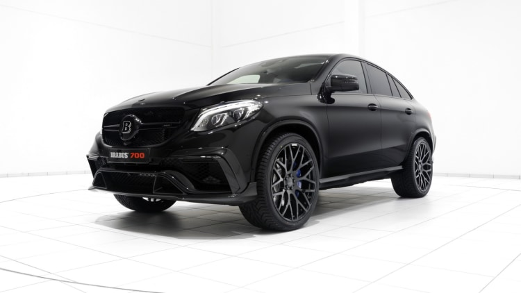 850 HP Mercedes-AMG GLE 63 Coupe by Brabus Is Tricky to Name but ...