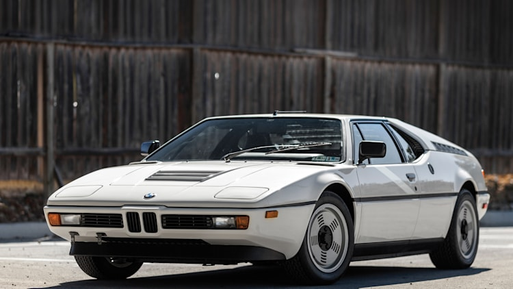 1988 BMW M1 front 3/4