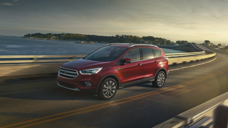 2017 Ford Escape front 3/4