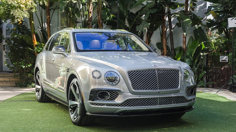Bentley Bentayga First Edition front 3/4