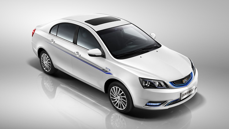 Image result for 2017 geely emgrand ev