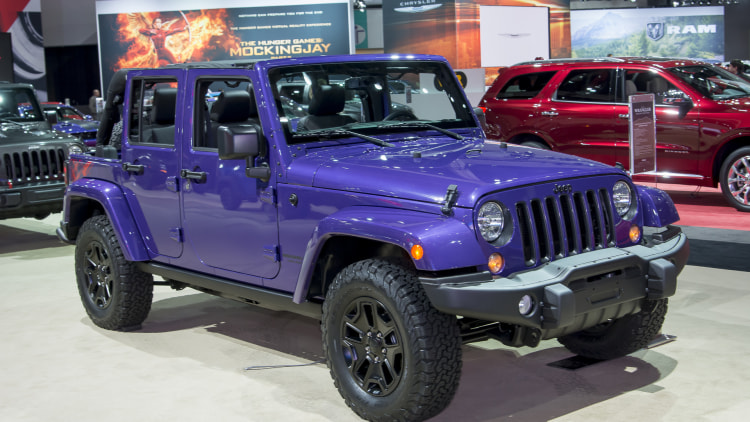 2016 Jeep Wrangler Backcountry Is Xtremely Purple Autoblog