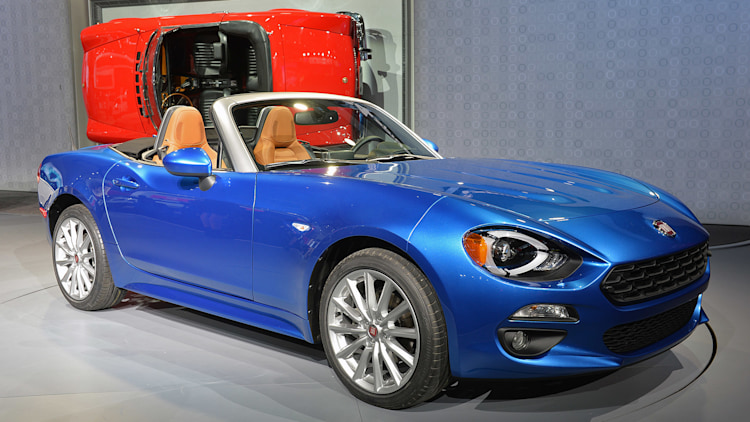 fiat to return to rallying with 124 spider autoblog. Black Bedroom Furniture Sets. Home Design Ideas