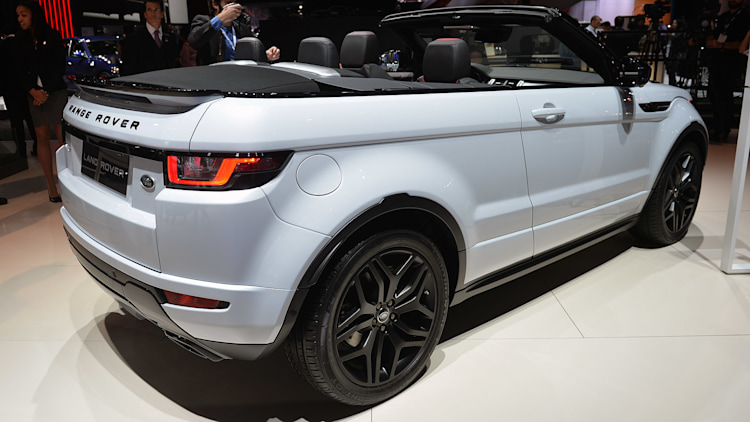 2016 land rover range rover evoque convertible is right at. Black Bedroom Furniture Sets. Home Design Ideas