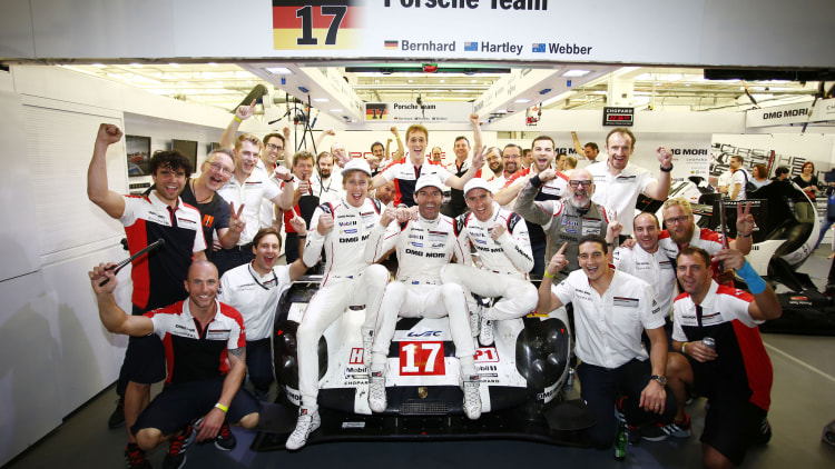 Porsche wins 2015 FIA World Endurance Championship