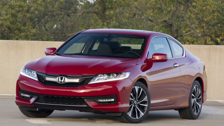accord coupe honda 2016 two door red
