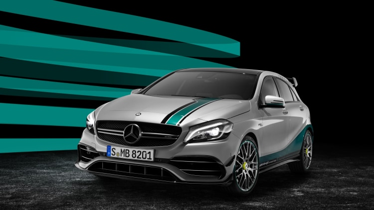 Mercedes-AMG A45 World Champion Edition front 3/4