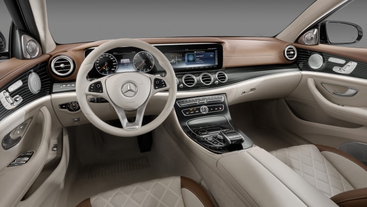 The 2017 mercedes benz e class interior is the new standard w video autoblog