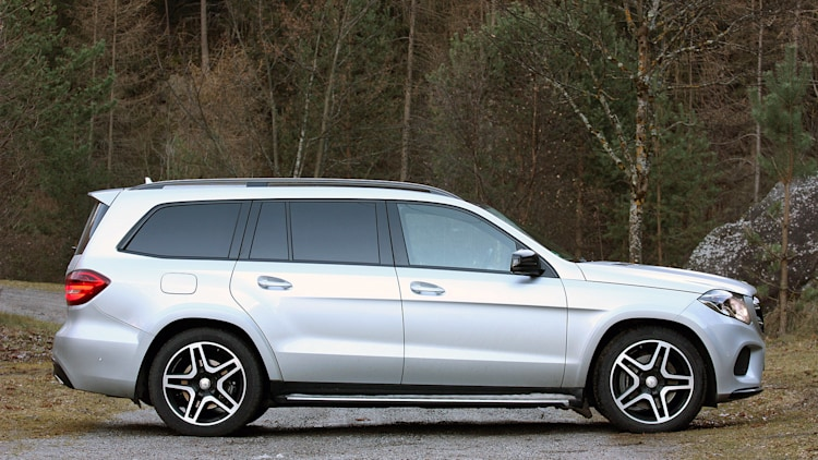 2017 mercedes benz gls class first drive autoblog for Bob ross mercedes benz