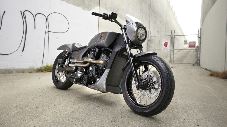 Victory Combustion Concept front 3/4