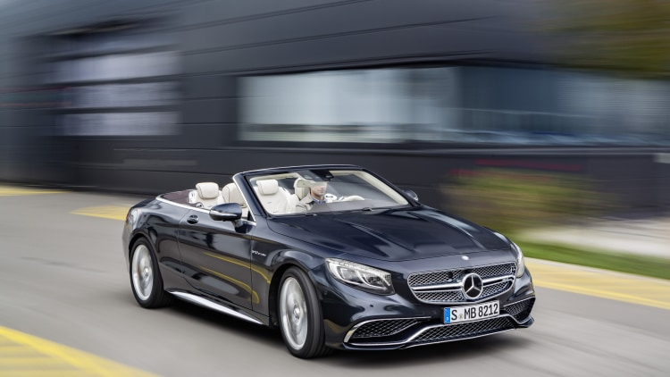 Mercedes amg s65 cabriolet is the ultimate droptop benz for Drop top mercedes benz