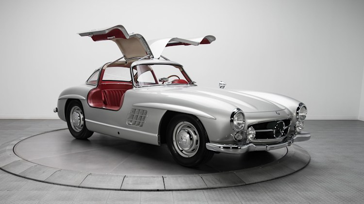 1954 mercedes benz 300sl with canadian roots sells for 1. Black Bedroom Furniture Sets. Home Design Ideas