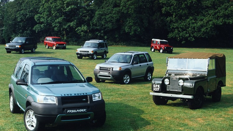 Worksheet. Land Rover now considers the Freelander a Heritage vehicle  Autoblog