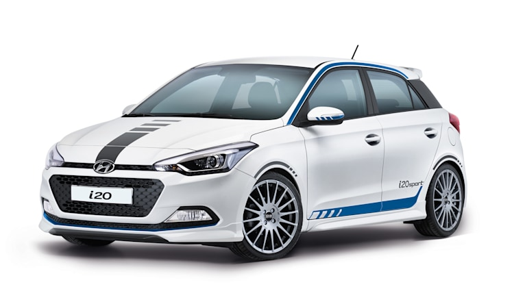 hyundai i20 sport previews future n division hot hatches autoblog. Black Bedroom Furniture Sets. Home Design Ideas