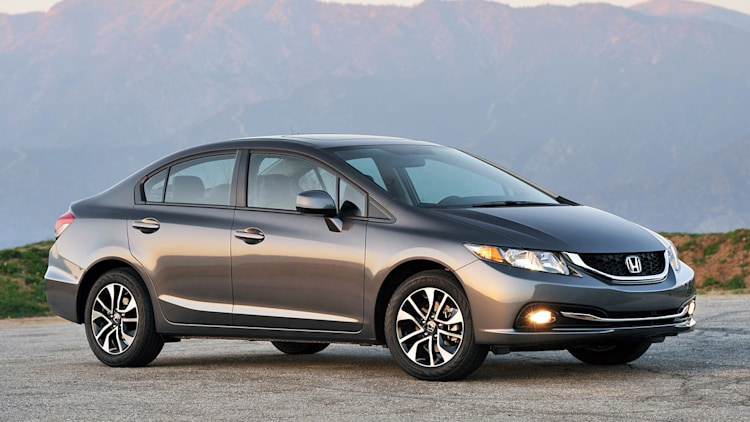 2015 Honda Civic sedan in grey