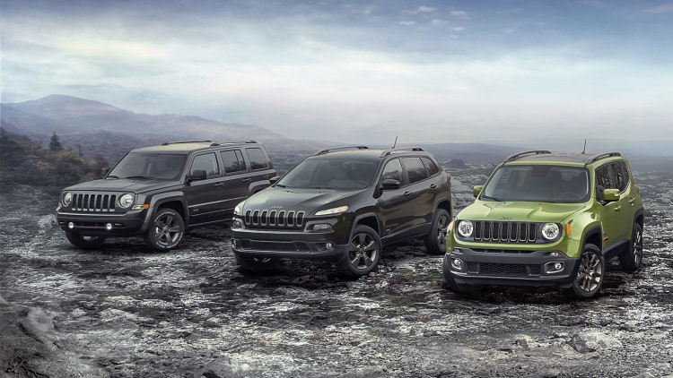 2016 Jeep 75th Anniversary Editions