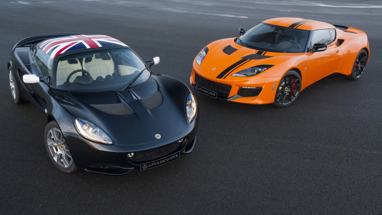 Lotus Exclusive Elise Evora