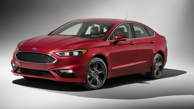 2017 Ford Fusion gets 325-hp Sport model with AWD - Autoblog