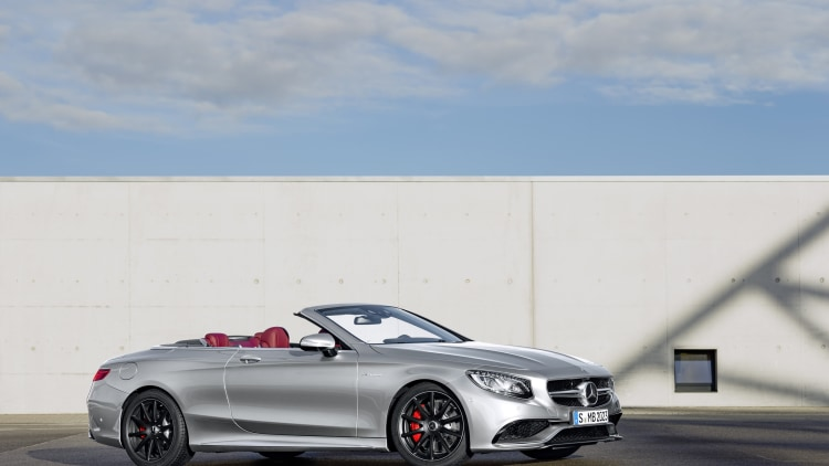 Mercedes-AMG S63 Cabriolet Edition 130 roof down
