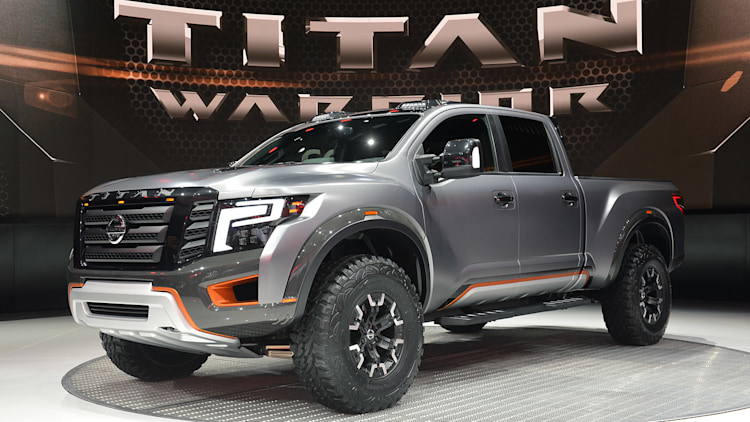 nissan titan warrior concept detroit 2016 photo gallery autoblog. Black Bedroom Furniture Sets. Home Design Ideas