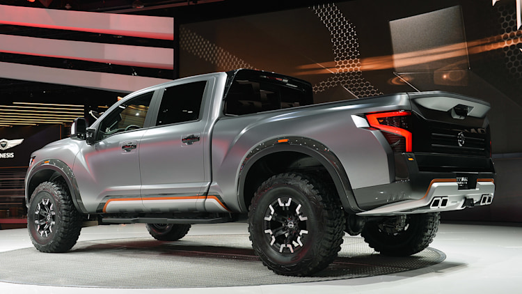 Nissan Titan Warrior Concept Detroit 2016 Photo Gallery
