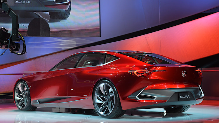 Worksheet. Acura Precision Concept Detroit 2016 Photo Gallery  Autoblog