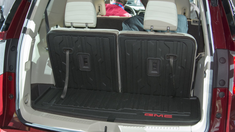 I Haven T Seen A Good Pic Of The Rear Cargo Area With 3rd Row Seats Up