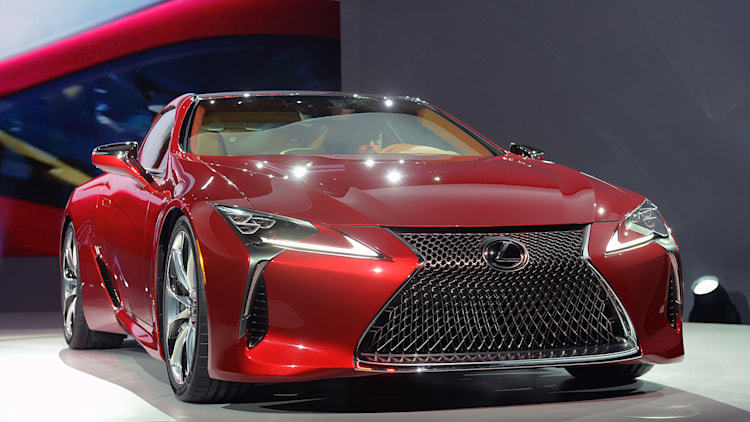Production Car: 2017 Lexus LC 500