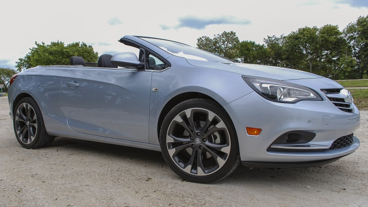 2016 Buick Cascada front 3/4 view