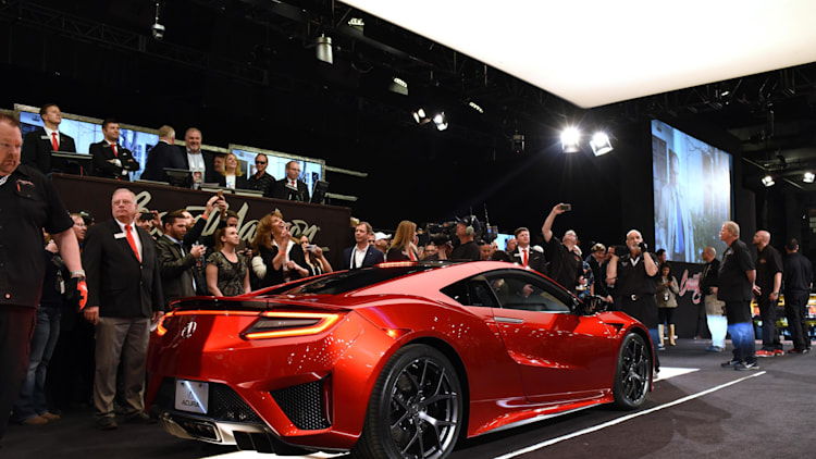 2017 Acura NSX: VIN 001 Auction
