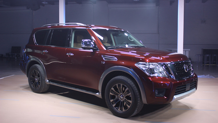 2017 Nissan Armada Prepares To Patrol The Us Autoblog