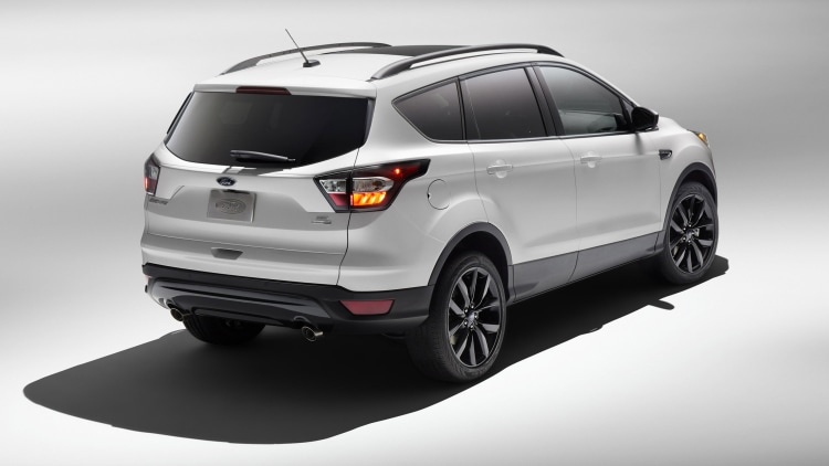 2017 Ford Escape joins Explorer with Sport Appearance pack ...