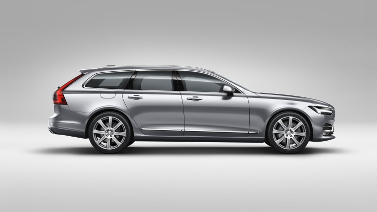 2018 volvo v90 wagon side