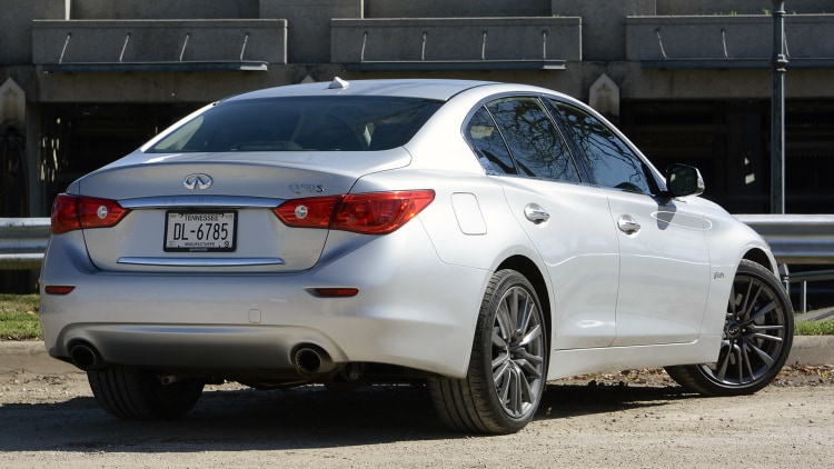 infiniti q50 red sport 400 priced at 48 855 awd at 50 855 autoblog. Black Bedroom Furniture Sets. Home Design Ideas