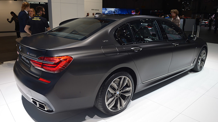 2017 Bmw M760i Xdrive Is An M And A 7 But Not An M7