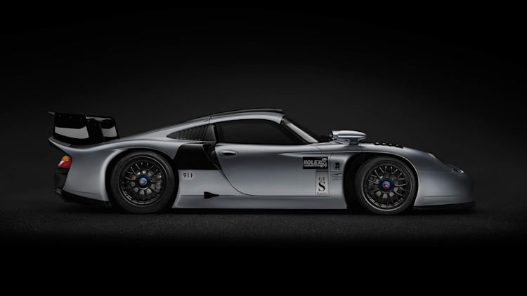 porsche 911 gt1 evo up for grabs in monaco valued at 3m autoblog. Black Bedroom Furniture Sets. Home Design Ideas