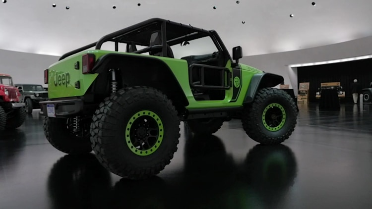 Jeep Wrangler Trailcat Concept Photo Gallery - Autoblog