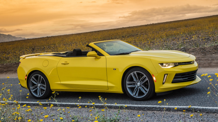 2016 Chevy Camaro Convertible