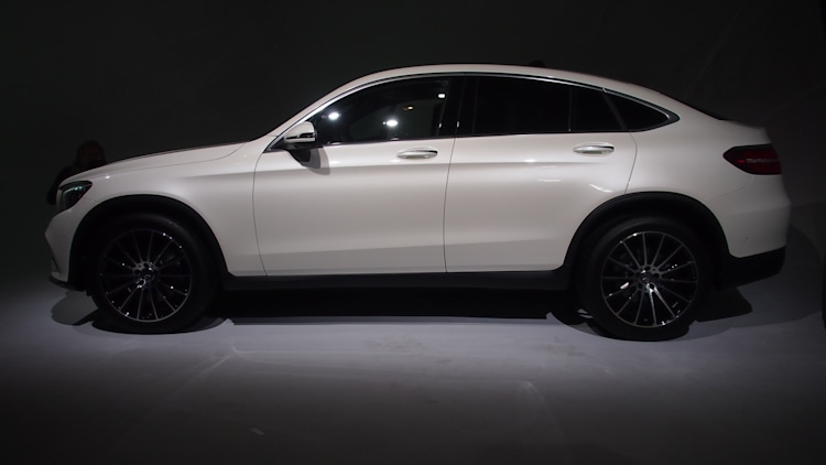 2017 mercedes benz glc class coupe at new york 2016 photo. Black Bedroom Furniture Sets. Home Design Ideas