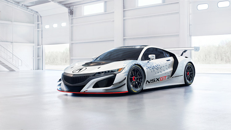 Acura NSX GT3 front 3/4
