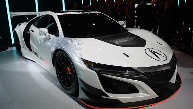 Acura NSX GT3: New York 2016 Photo Gallery - Autoblog