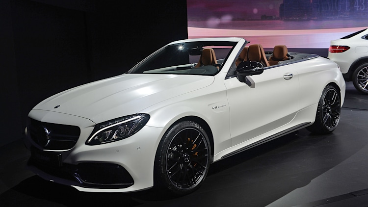 2017 mercedes amg c63 cabriolet is a turbo topless. Black Bedroom Furniture Sets. Home Design Ideas